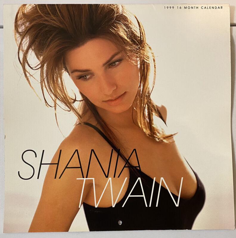 Shania Twain 1999 Calendar 16 Month