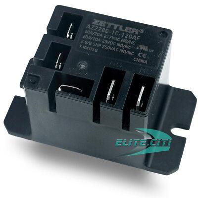 American Zettler Mini Power Relay Spdt 120v 30a Spdt Az2280-1c-120af