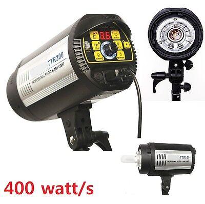 Pro photo studio 400 Watt/second Flash Digital Strobe Master Monolight -