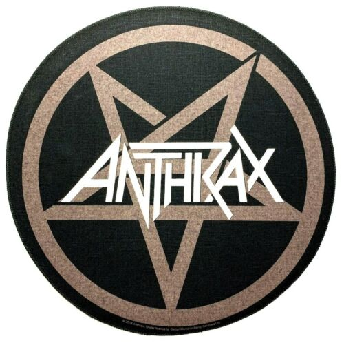 Anthrax Back Patch Pentathrax 11-inch Over-Sized Large Patches Memorabilia Logo