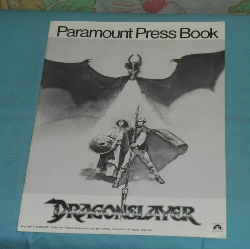 original DRAGONSLAYER PRESSBOOK