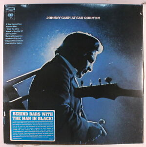 JOHNNY CASH: At San Quentin LP (HQ vinyl reissue) Country