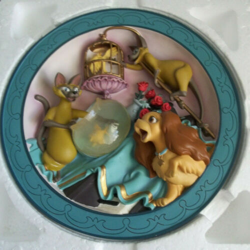 """Disney 3d Lady in the Tramp """"We are Siamese""""    64/7500"""