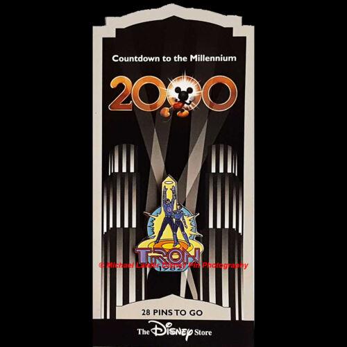 DISNEY STORE COUNTDOWN TO THE MILLENNIUM PIN #29 TRON & YORI