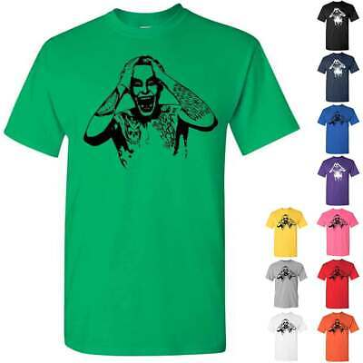 Joker Suicide Squad Graphic Relaxed Short Sleeve Mens T Shir