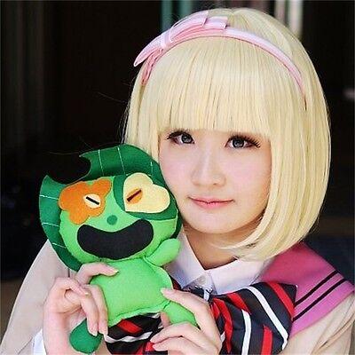Shiemi Moriyama Cosplay Kostüm (Ao no Blue Exorcist Shiemi Moriyama cosplay kostüm perücke)
