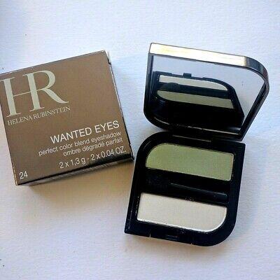 Helena Rubinstein Wanted Eyes Eyeshadow Duo Palermo Green High End Makeup