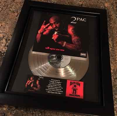 Tupac Shakur 2Pac Platinum Record Disc Album Music Award Grammy RIAA