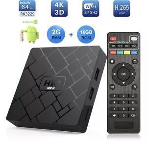 ANDROID 8! HK 1 MINI 2/16GB ANDROID TV BOX KODI APPS LOADED WIFI 4K Hallam Casey Area Preview