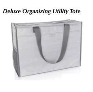 Thirtyone Deluxe Organizing Tote NEW in package. Grey