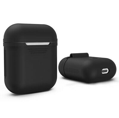 Apple Airpods Silicone Case BLACK color