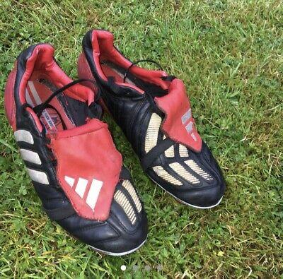 Adidas Predator Mania 2002 Blades, Black Red, Size UK7
