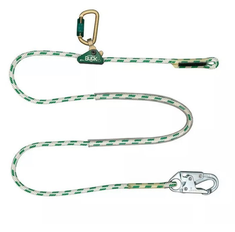 Buckingham BuckAdjuster 9-7 Rope Secondary 7ft. Lineman Climbing
