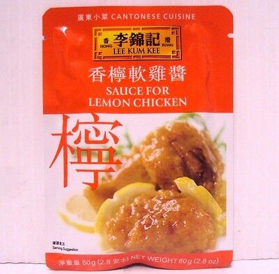 Pack 5 Lee Kum Kee Sauce For Lemon Chicken Chinese Food Cantonese Cuisine 2.8oz