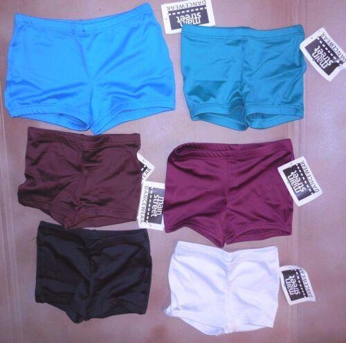 Boy Cut Shorts Booty Shorts 6 Colors Girls/Ladies Spandex Dance Cheer