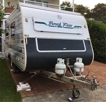 Pop Top, Royal Flair Caravan, 2000 model Warners Bay Lake Macquarie Area Preview