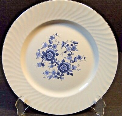 Wedgwood Royal Blue Ironstone Dinner Plate 10 1/8
