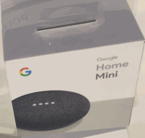 Brand new Sealed Google Home Mini charcoal x 2 units - $35 each