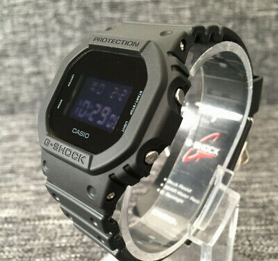 CASIO G SHOCK DW-5600BB-1 THE ORIGIN MATTE BLACK DIGITAL WR 200M BRAND NEW