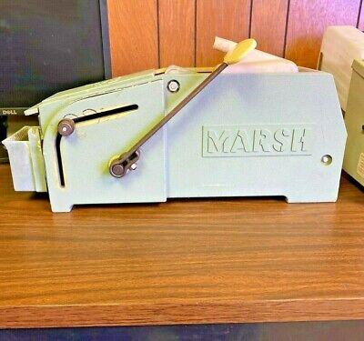 Marsh 5 Ht Manual Gummed Tape Dispenser Hand Taper