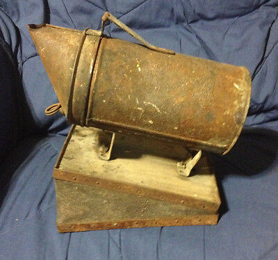 Vintage Bee Smoker With Bellows Hand Pump Still Working