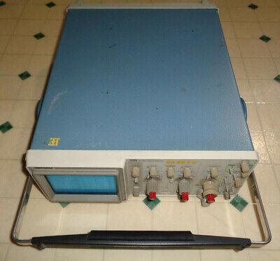 Vintage Tektronix 2215 Analog 60 Mhz Dual Channel Oscilloscope Works