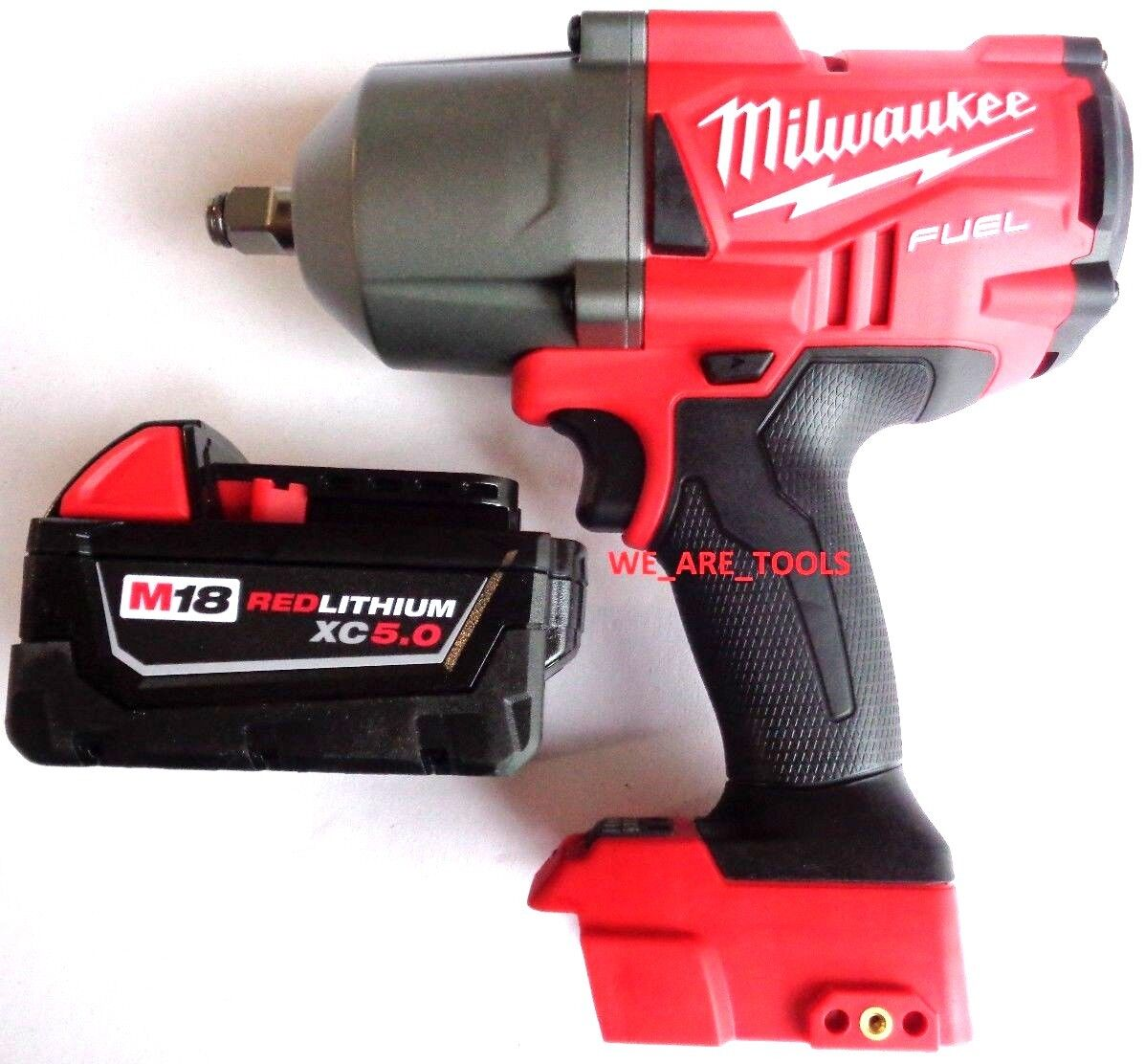 Milwaukee FUEL 2767-20 18V 1/2 Impact Wrench,(1) 48-11-1850 Battery, Charger M18 12