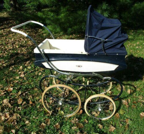 Vintage Pedigree Baby Toddler Full Size Pram Carriage Stroller ENGLAND