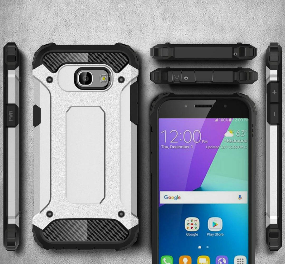For Samsung Galaxy S9 / S9 Plus Case Rugged Armor Shockproof