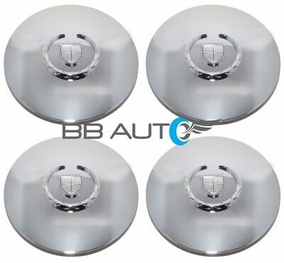 "2003-2006 CADILLAC ESCALADE ESV EXT 17"" 20"" CHROME WHEEL HUB CENTER CAPS SET NEW"