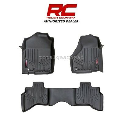 2002-2008 Dodge Ram 1500 Quad Cab Mega Cab RCX Fitted Floor Mats - SET [M-30212]