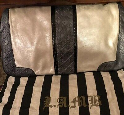 Authentic Gwen Stefani L.A.M.B Convertible Clutch To Tote Handbag, used for sale  Brooklyn