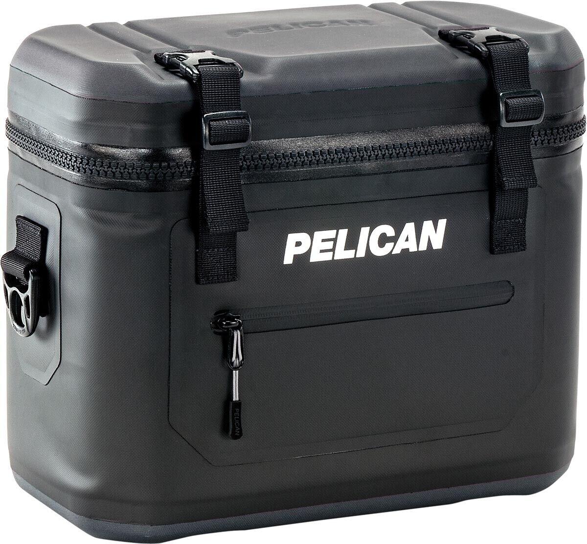 Pelican Elite Soft Cooler SC12 12 Can Capacity 13QT 100% Lea