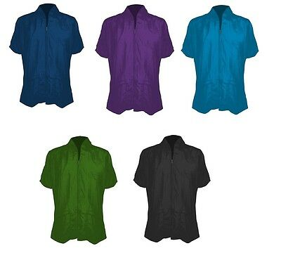 Dog Grooming Jackets (Grooming Jacket for Dogs & Cats - 5 colors - S to XL - three pockets )
