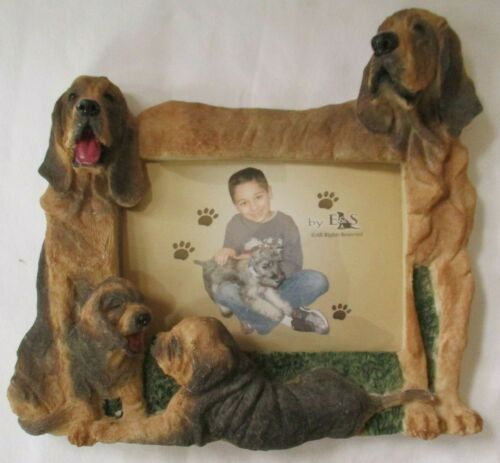 BLOODHOUND 4 X 6 PICTURE FRAME E&S IMPORTS