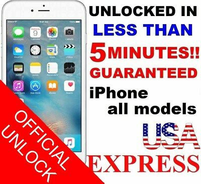 Premium FACTORY UNLOCK SERVICE AT&T CODE ATT for IPhone 3 4 5 5S 6 6s SE 7 8u