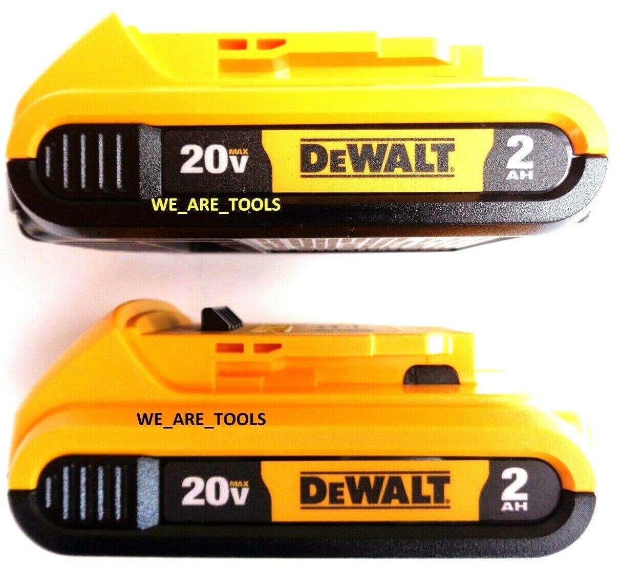 2 new genuine 20v dcb203 2 0