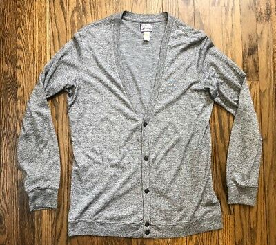 Diesel-Co Mens Cardigan Button Front Sweater Size XL