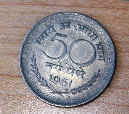 1961 India 50 Paise