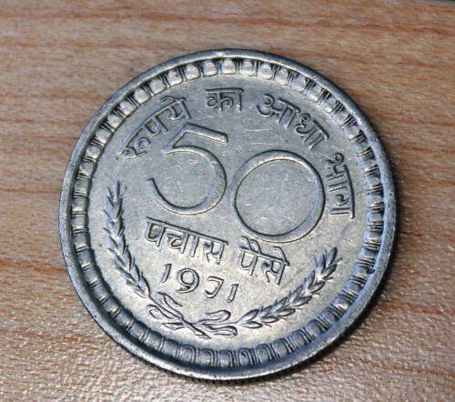 1971 India 50 Paise