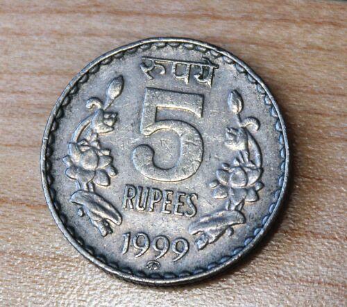 1999 India 5 Rupees