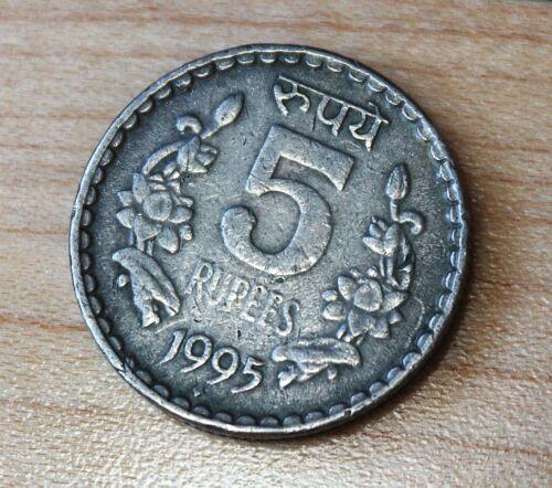1995 India 5 Rupees
