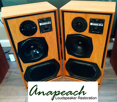 KEF Reference 104AB Loudspeakers - Fully rebuilt with exactly matched components