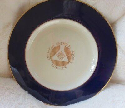 Pickard China Plate, American Chemical Society, 100th Anniversary, 1876-1976