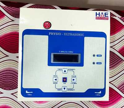 Hme New Ultrasound Therapy Physiotherapy 13mhz Machine Free Shipping