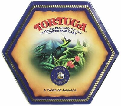 Tortuga Rum Cake 4 oz Blue Mountain Coffee Fresh Stocks -