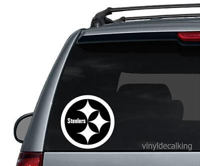 NFL Pittsburgh Steelers Vinyl Decal Sticker Football for Car Truck Logo NFL