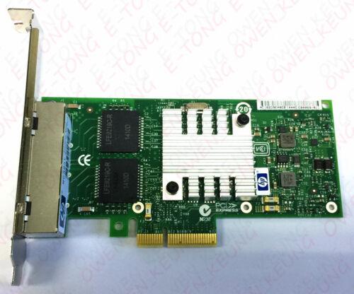 HP 593743-001 NC365T 4-Port ETHERNET NIC Card 593720-001 593722-B21