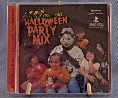 Halloween Party Mix Cool Ghoul's St. Jude Compilation Songs Sound Effects - Halloween Sound Effects Mix