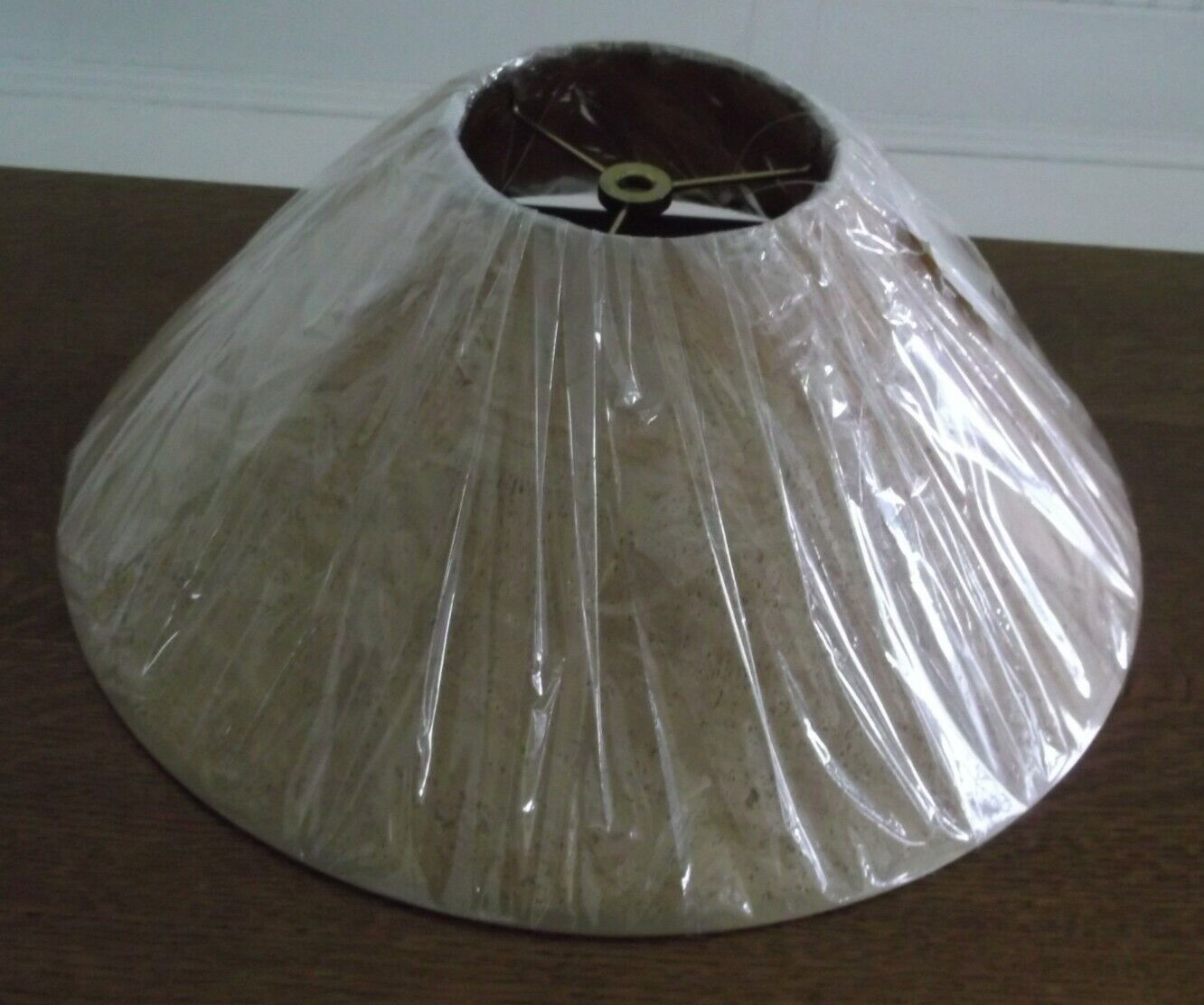 16 Brownish Coolie Style Lamp Shade By Lake Shore Studios, Open Box - $19.97